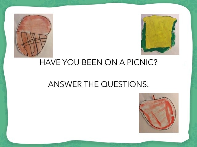 Have You Been On A Picnic  by Tatiana Pricevicius