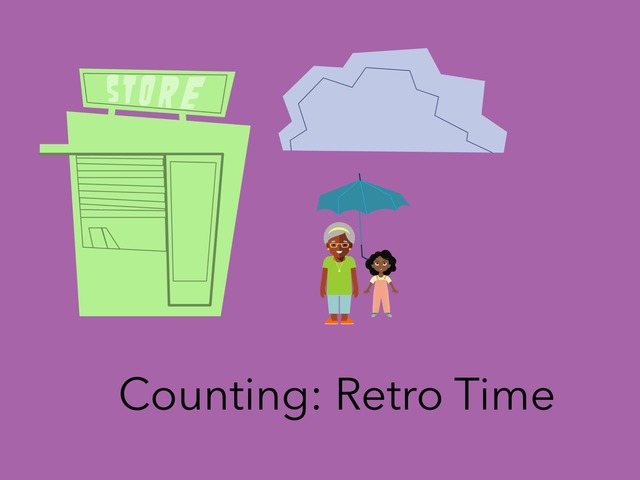 Counting: Retro Time by Carol Smith