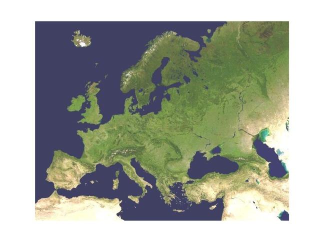 Relieve De Europa by Diego Guzman Sousa