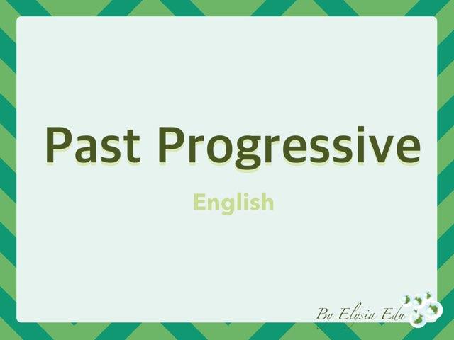 Past Progressive by Fran Sarrión