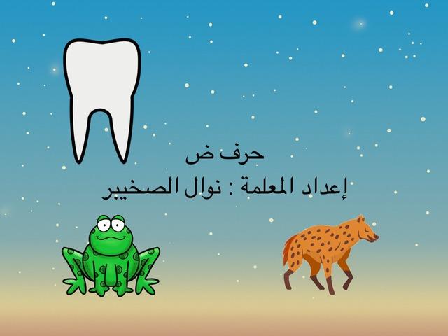 حرف ض by نوال ناصر