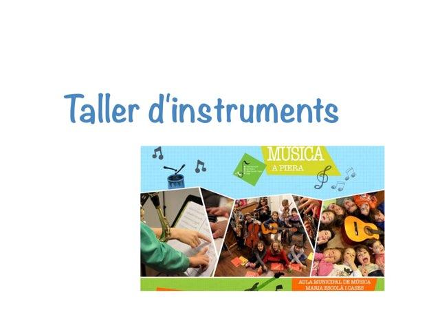 Taller d'instruments by Xavier Piquer