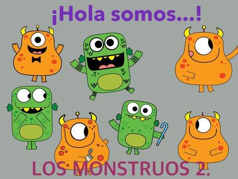 Los Monstruos Actividad 2. by Jose Sanchez Ureña