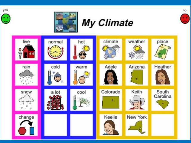 April Unique Unit: My Climate Sight Word Find  by Tanya Folmsbee