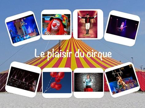 Le plaisir du cirque by Catherine Davies