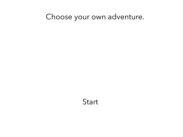 Choose Your Own Adventure  by 3NM iPad