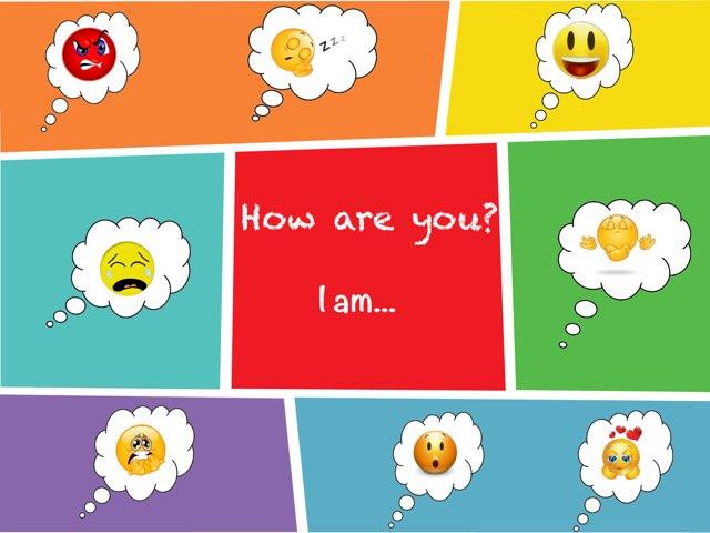 HOW ARE YOU? I AM... by Sara Burgueño Peña