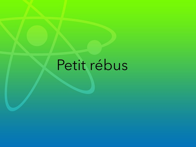 Rébus  by Lin