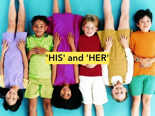 'HIS' and 'HER' by Lucinda Mimms