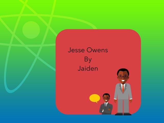 Jesse Owens By Jaiden by Christine Snow