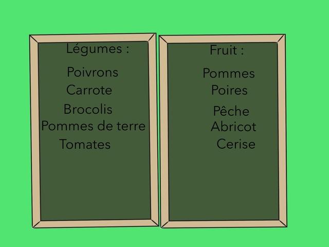 Les Fruit Et Legumes by Lin