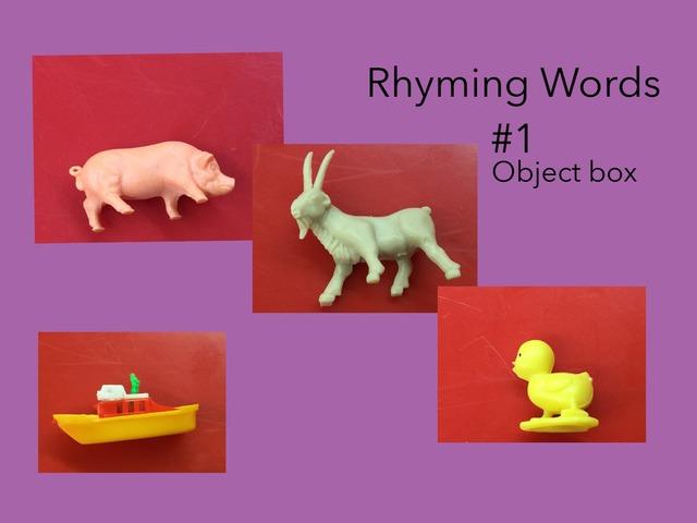 Rhyming Words #1 by Carol Smith