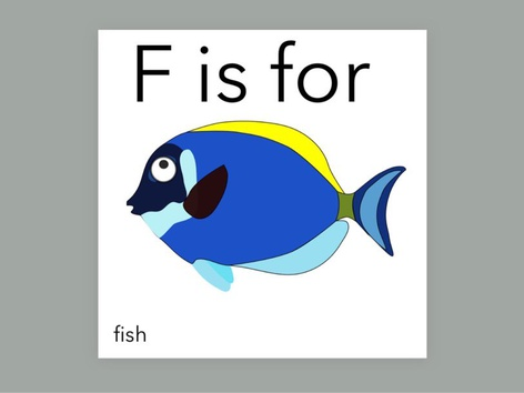 F Is For (Word Book) by Carol Smith