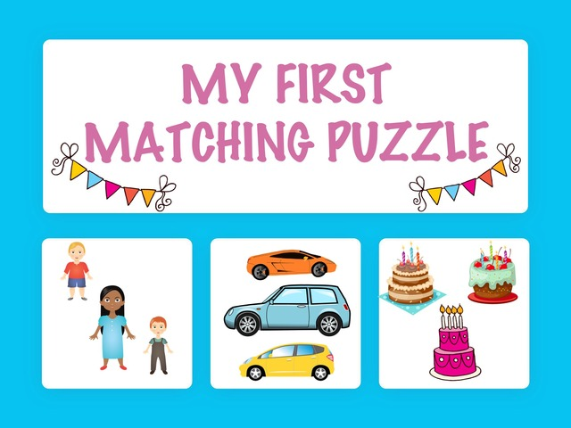 My First Matching Puzzle by Hadi  Oyna