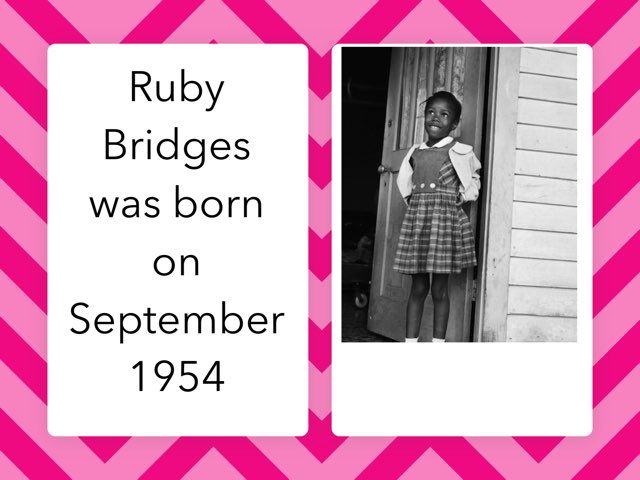 Ruby Bridges By Zania by Christine Snow