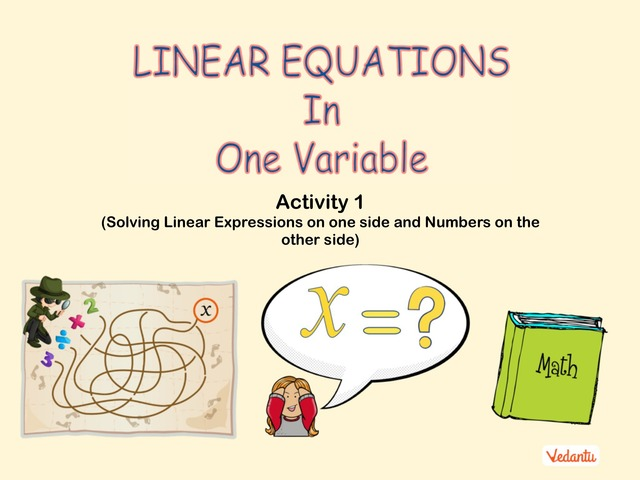G8 Linear Equations in One Variable 1 by Pulkit Jain