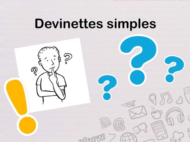 Devinettes Simples by Seve Haudebourg