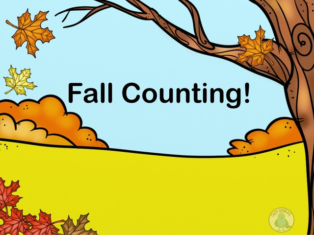 Fall Counting! by Megan Gallagher