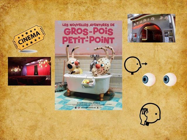 GROS-POIS ET PETIT-POINT by véronique Favre