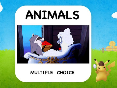 Animals- Multiple Choice by ShowAnd Text