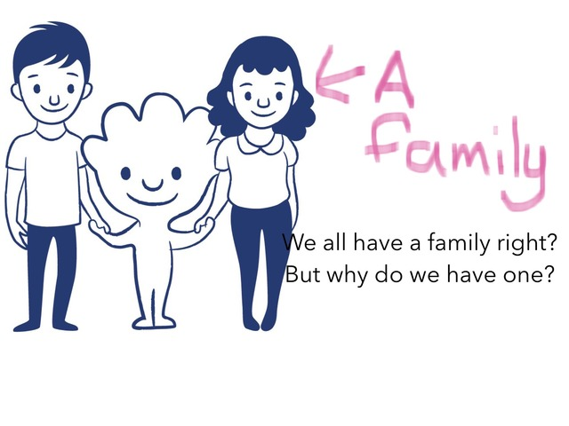 Why Do We Have A Family by Mindi Potter
