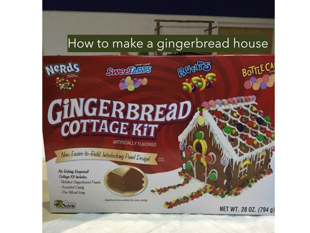 Gingerbread House by Qua Ant