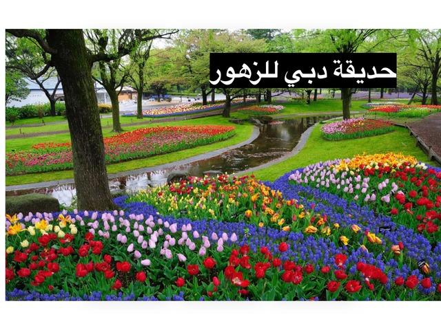 حديقة الزهور by Faith Q8