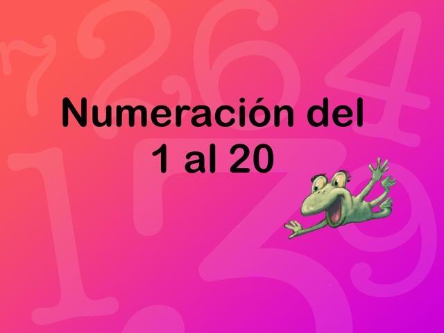 Numeración del 1 al 20 by Jose Sanchez Ureña