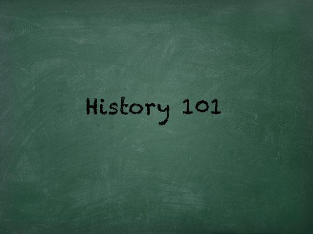 History 101 by Mark Lockard