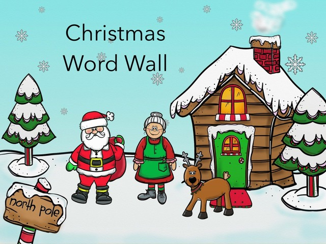 Christmas Wall Words Copy  by Carol Smith