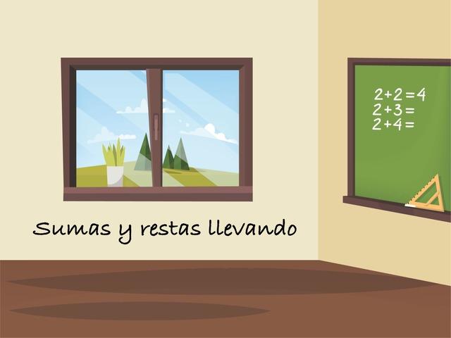 Sumas Y Restas  by Maria Rodríguez