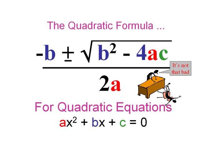 Quadratic Equations by Dorinda Allen