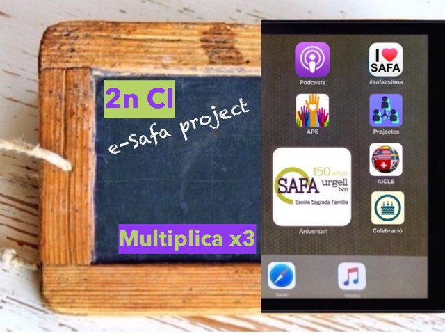 Multiplica x3 by IE Londres c/urgell