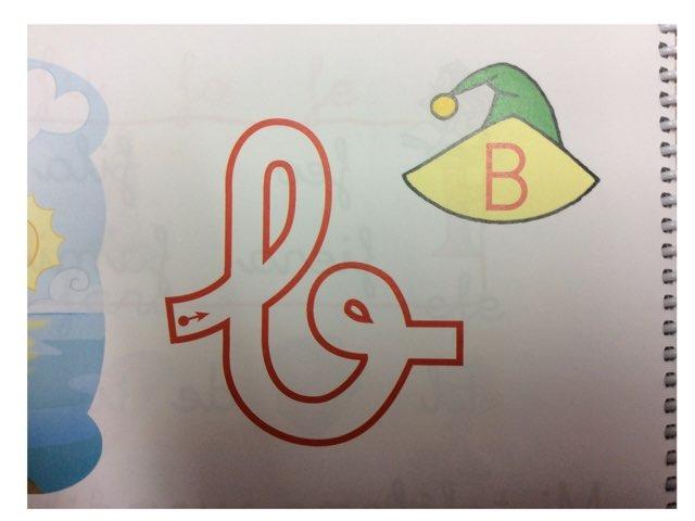 La letra B  by Material Pictos