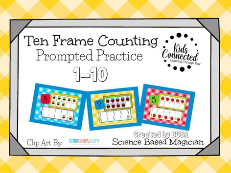 Ten Frame Prompted Practice: Jam by Kids  Connected