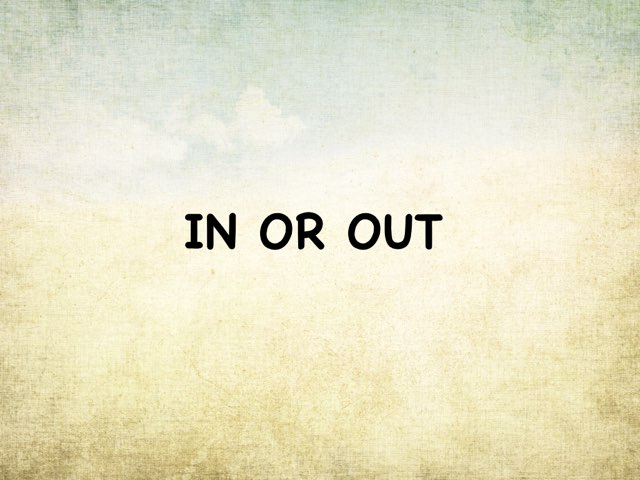In Or Out by Gigi Lough