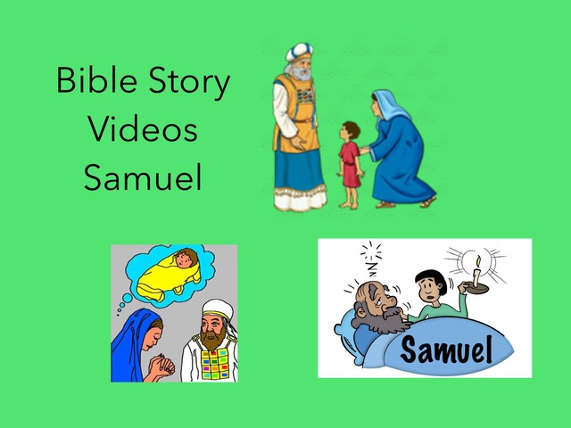 Bible Story Videos: Samuel  by Carol Smith