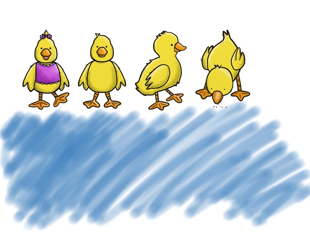 Puzzle Ducks by Maira Carmo
