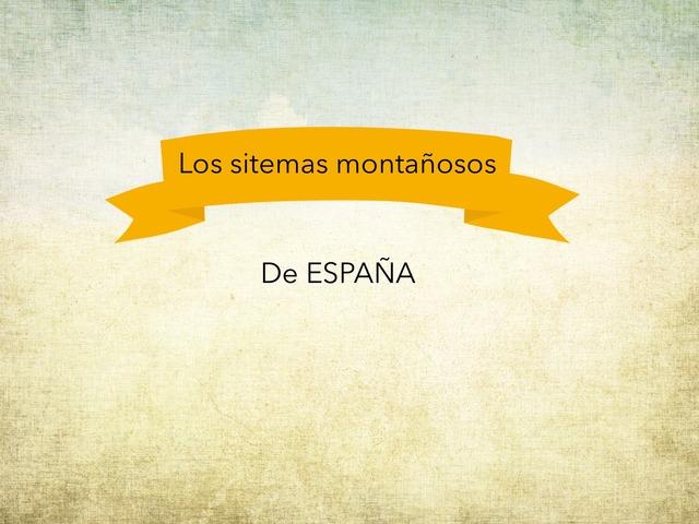 Sistemas Montañosos De España by Jorge Gómez Sancho