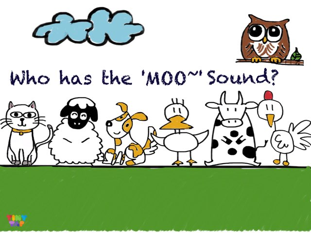 who has the 'MOO' Sound? by 佩妮 陈