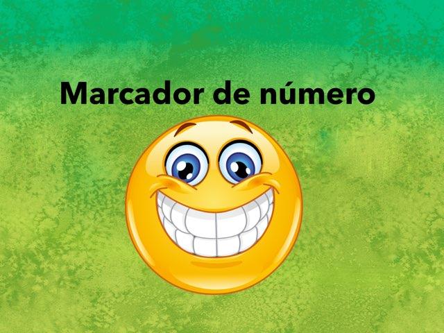 Marcador De Número  by Anahi Alejandra