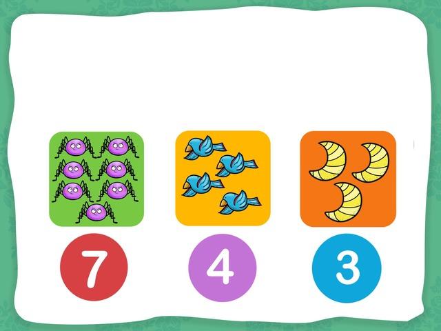 數數1-10(練習) by Wood Li
