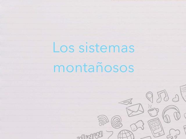 Sistemas Montañosos by Marta Nieto Toribio