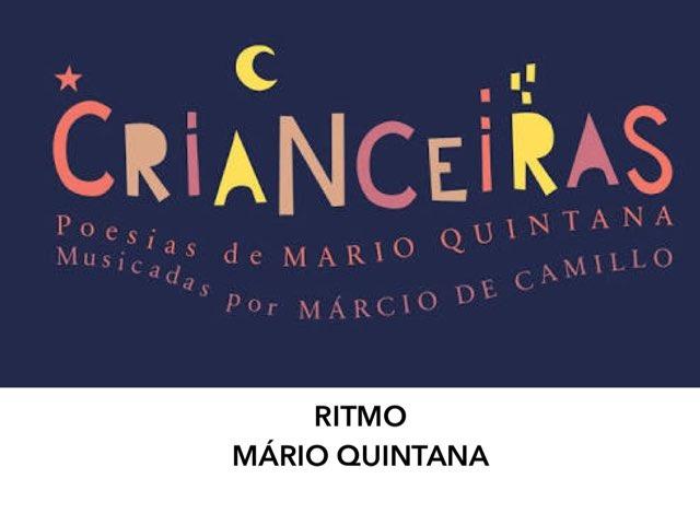 RITMO - MÁRIO QUINTANA - Atividade Interativa by Renata Giovannelli