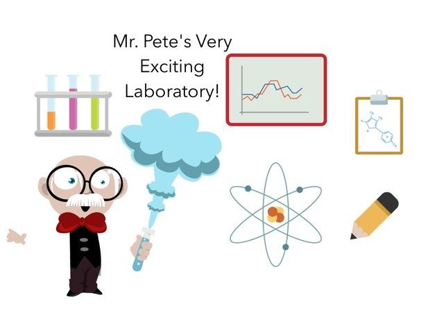 Mr. Pete's Lab by Clara Krüger