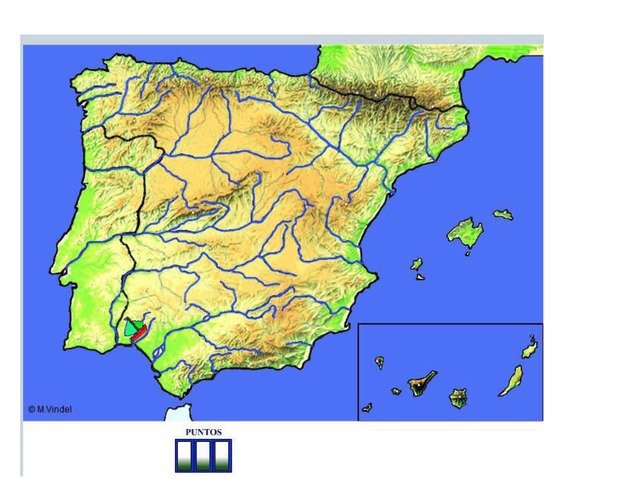 Mapa De España Ríos by Ignacio Martinez-Yzenga Alvarez