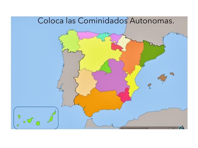 Comunidades Autonomas De España by Adriana Ruiz Moreno