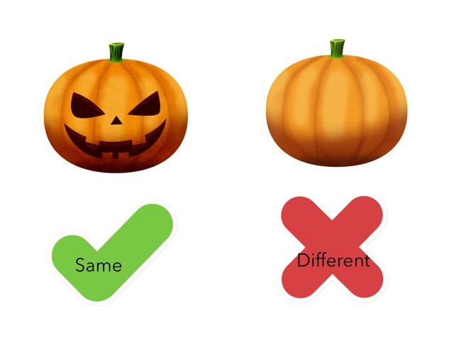 Halloween Same Or Different by Amanda Prater