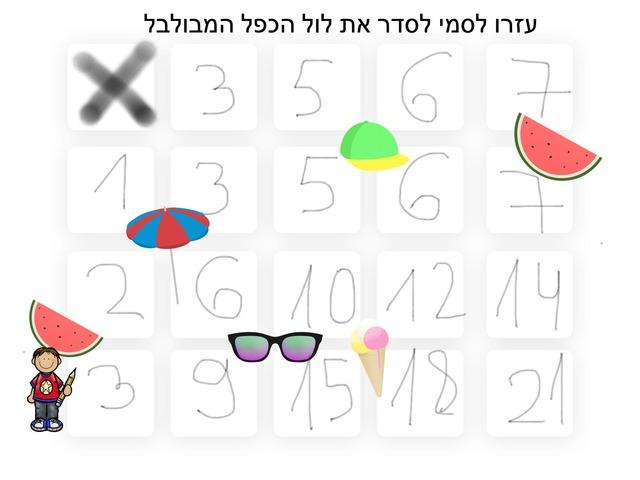 תרגול לוח הכפל by מור יעקובוביץ