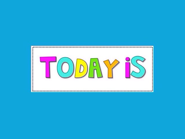 Today is Friday by AAC WHELS